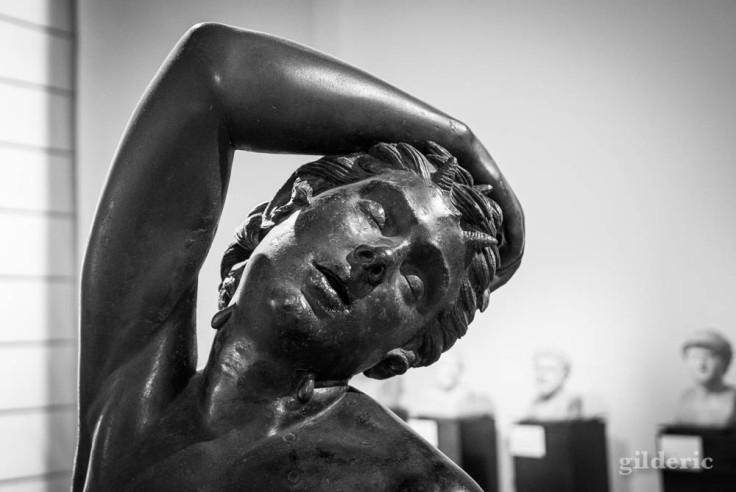 Faune endormi (détail), Musée archéologique de Naples