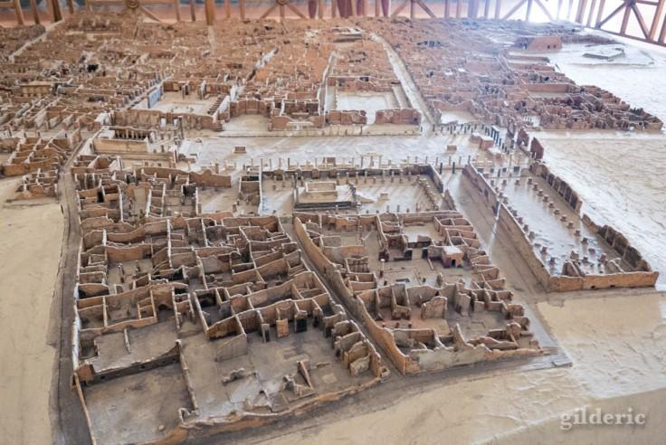 Modèle de Pompéi au Musée archéologique de Naples