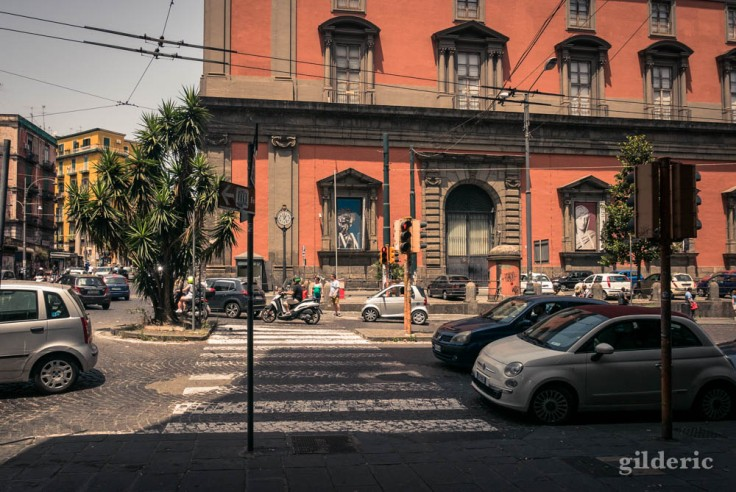 Le musée archéologique de Naples (extérieur)