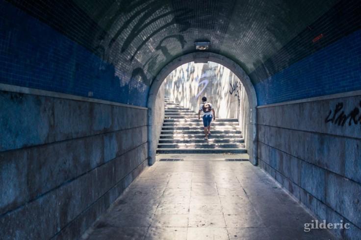 Exposition automatique difficile : tunnel à Cascais