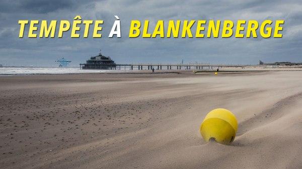 Tempête à Blankenberge