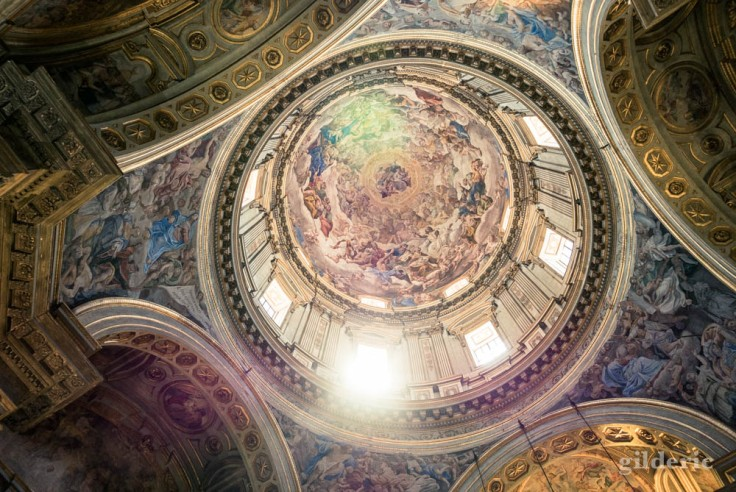Visiter Naples : la coupole de la cathédrale