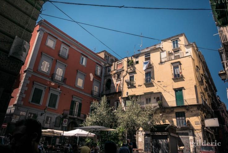 Visiter Naples : piazzetta sedil Capuano