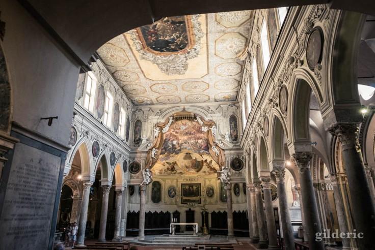Visiter Naples : la basilique de Santa Restituta