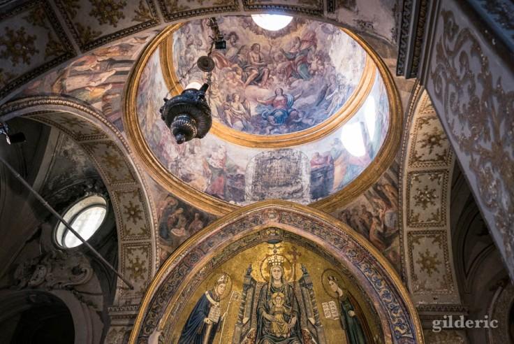 Visiter Naples : chapelle de la basilique de Santa Restituta