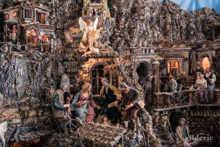 Visiter Naples : crèche napolitaine