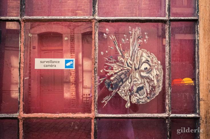 Hommage à Méliès : street art en Roture (Liège)