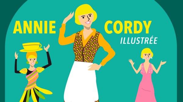 Annie Cordy illustrée