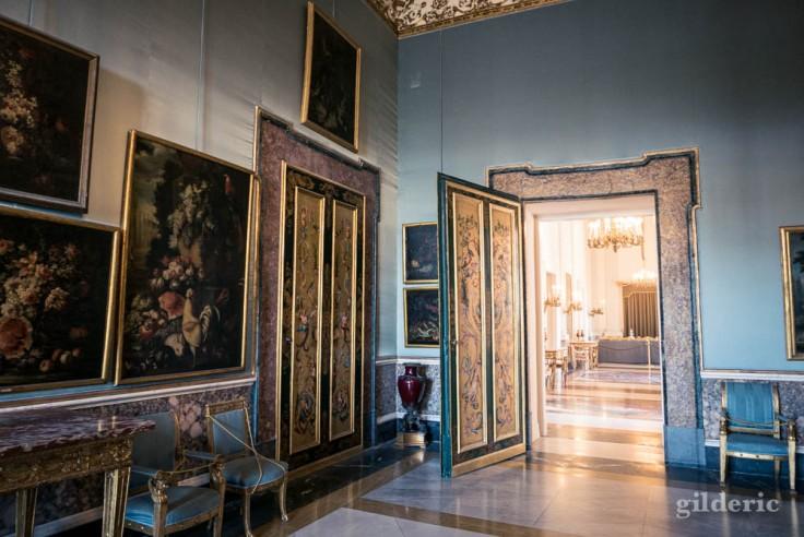 Palais royal de Naples : salle aux Natures mortes