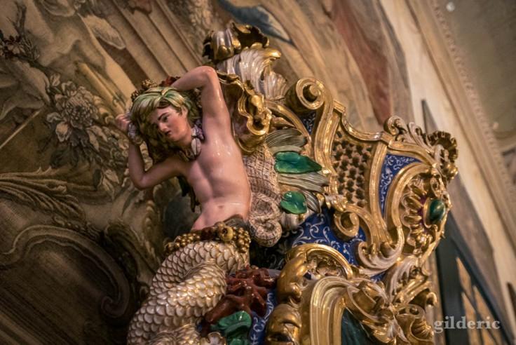 Palais royal de Naples : salon d'Hercule
