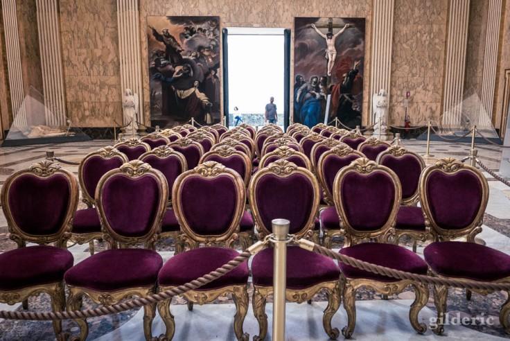 Palais royal de Naples : la chapelle Palatine