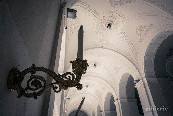 Palais royal de Naples : déambulatoire (détail)