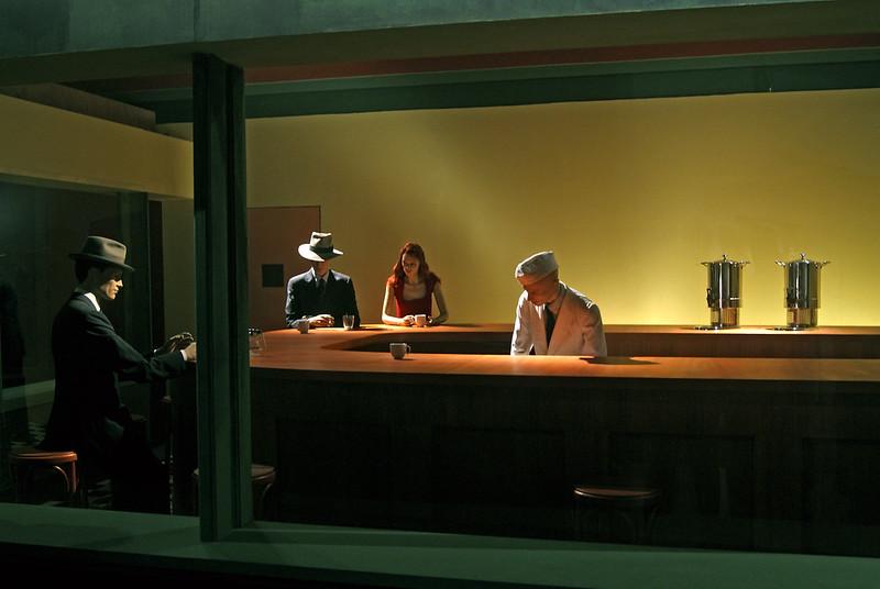 """After Hopper"" par Mauro Sassetti"