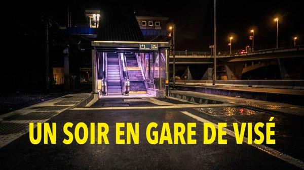 Un soir en gare de Visé : street photography