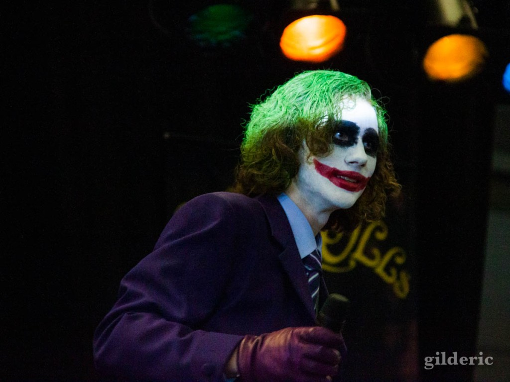 Cosplay le Joker - Festival FACTS 2010 à Gand