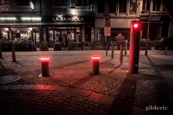 Couvre-feu à Liège - street photo