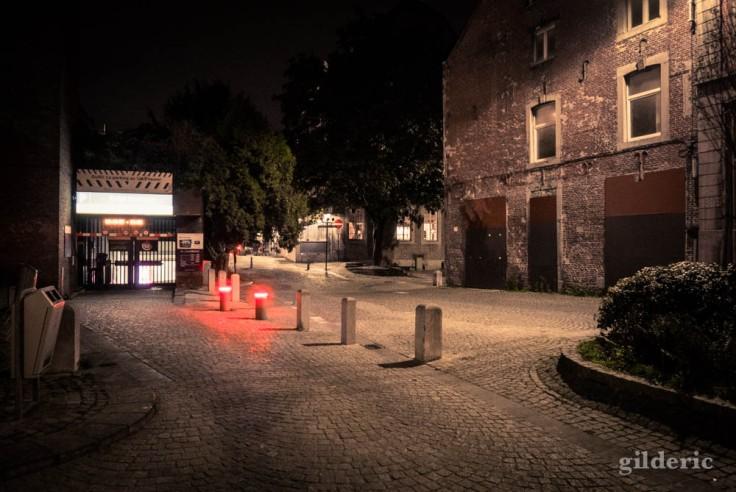 Couvre-feu à Liège : ville morte