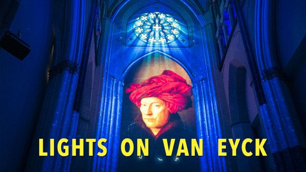 Visiter Gand : Lights on Van Eyck (spectacle)
