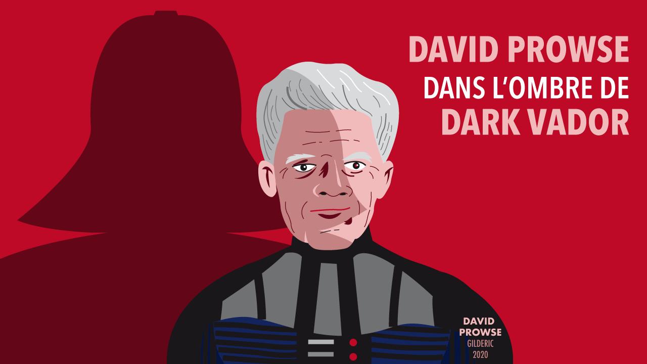 David Prowse dans l'ombre de Dark Vador (portrait)