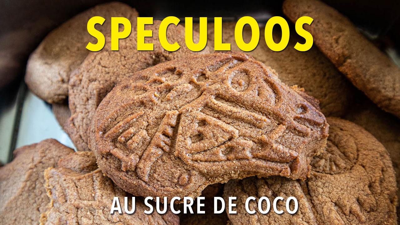 Recette de spéculoos au sucre de fleur de coco (chroniques du confinement)