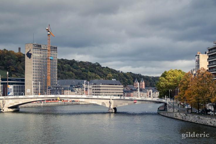 Automne à Liège : photo du pont des Arches