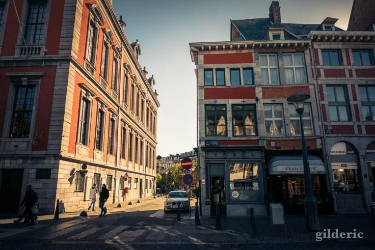 Liège en automne : autour de la place du Marché