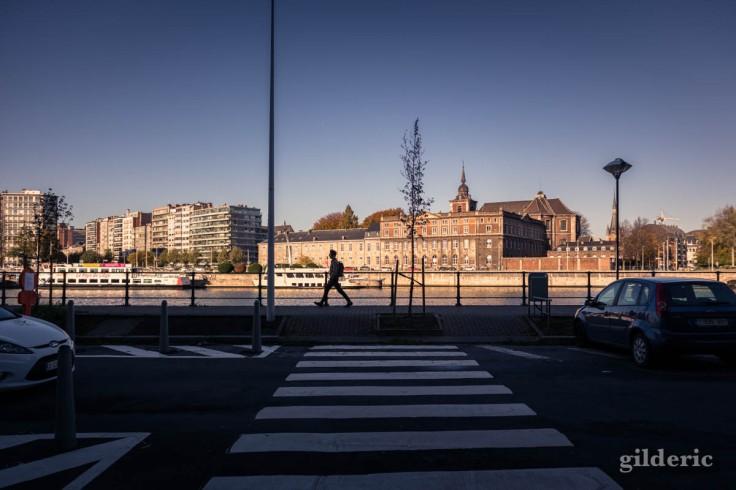 Un automne confiné à Liège : en bord de Meuse