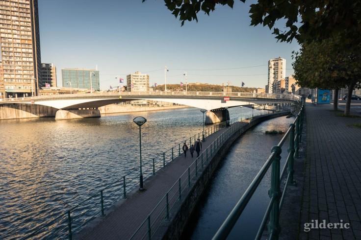 Automne confiné à Liège : balade en bord de Meuse