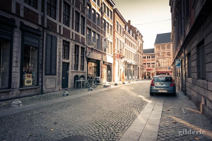 Liège en automne : rue de la Violette