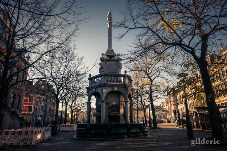 Le Perron : symbole de la ville de Liège