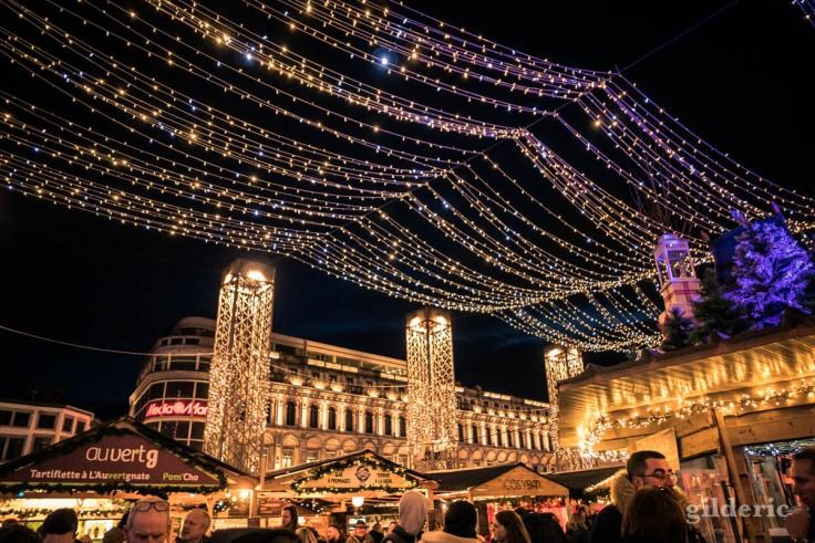 Photographier Noël : les illumination du Marché de Noël de Liège