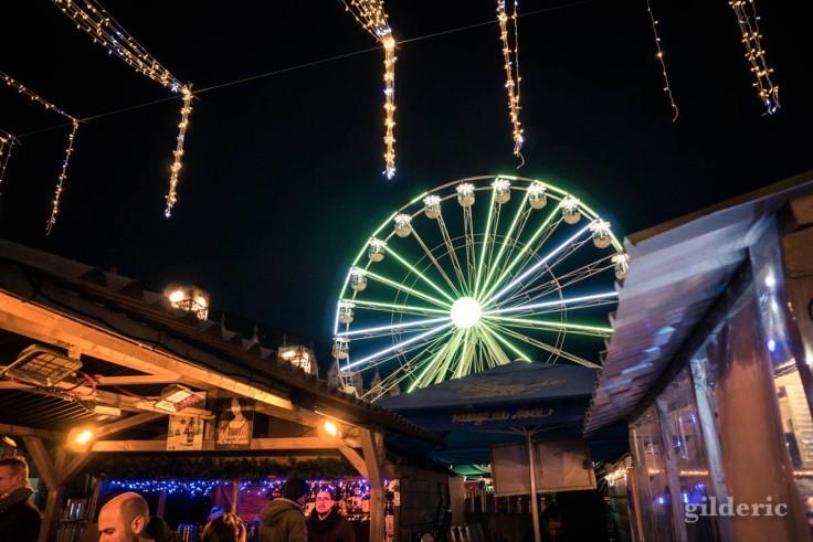 Photographier Liège : la grand roue du marché de Noël
