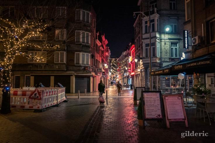 Photographier Noël : illuminations au centre de Liège