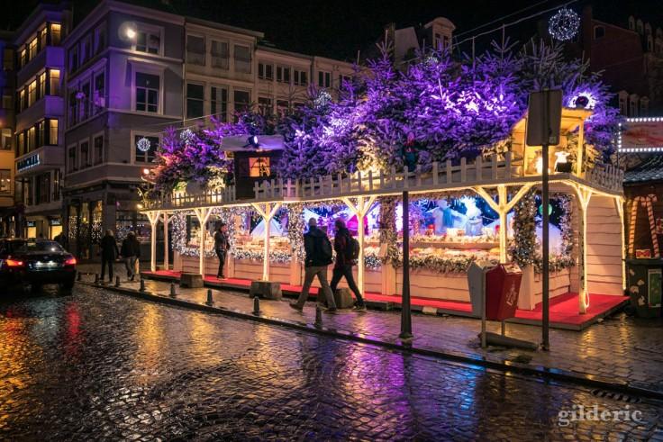 Photographier Noël : marché de Noël près de la cathédrale Saint-Paul