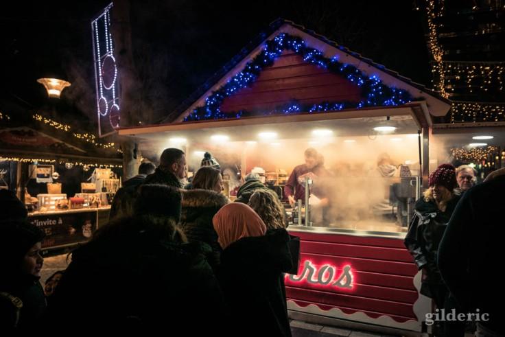 Photographier Noël : les gourmandises du marché de Noël de Liège