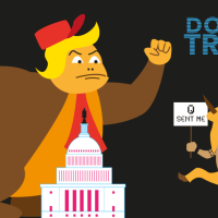 Donkey Trump II : au Capitole - une parodie animée