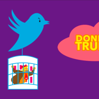 Donkey Trump III : vs Facebook & Twitter