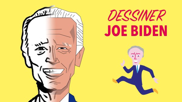 Comment dessiner Joe Biden ?