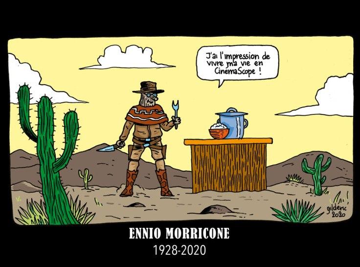 Taupe Chef : hommage en dessin à Ennio Morricone (partie 2)