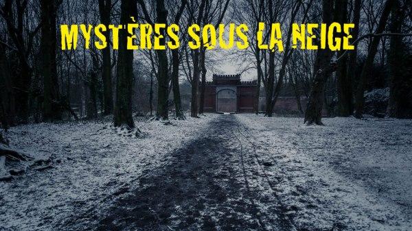 Mystères sous la neige : Chroniques du confinement #19