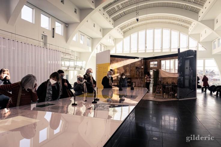 Exposition Giacometti à la Cité Miroir (Liège)