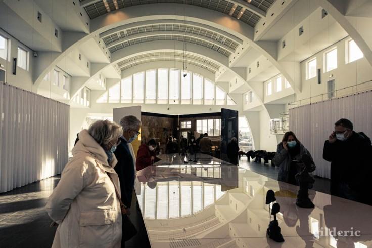 """Exposition """"Alberto Giacometti - L'humanité absolue"""" à la Cité Miroir (Liège)"""