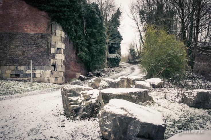 Près du fort de la Chartreuse (sous la neige)