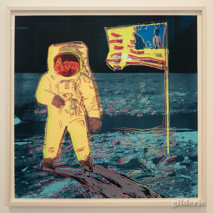 Moonwalk, une des dernières sérigraphies de Warhol