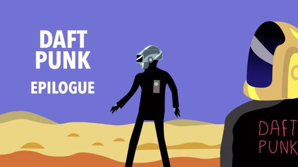 Daft Punk Epilogue : une parodie animée