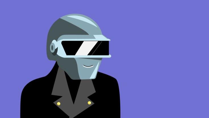 Le secret de Daft Punk (illustration vectorielle)
