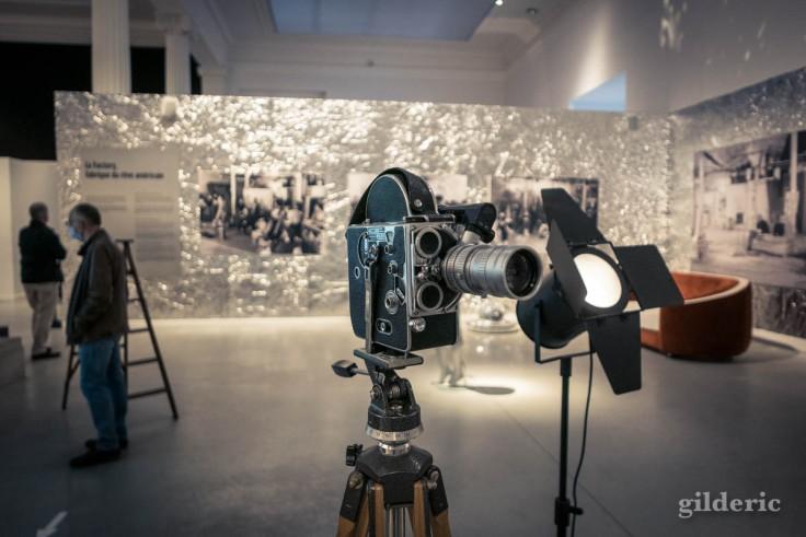 Warhol, cinéaste - exposition à La Boverie, Liège