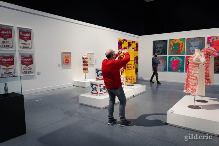 Expo Warhol : les années 60