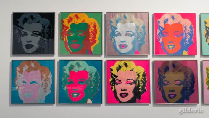 Portraits de Marilyn par Andy Warhol