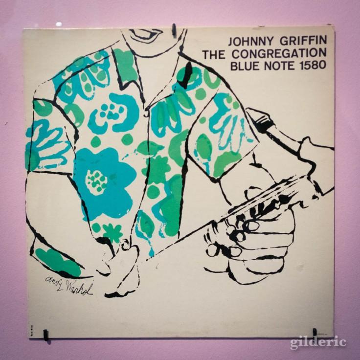 Pochette de jazz dessinée par Warhol